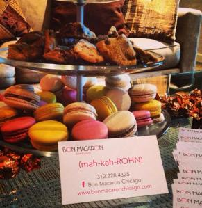 Gluten-free, handmade macarons, brownies and chocolate chip cookies from Bon Macaron Chicago